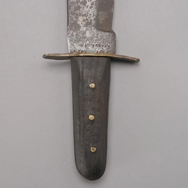 675: Cook Brothers Bowie Knife, 1880s-1890s - 2