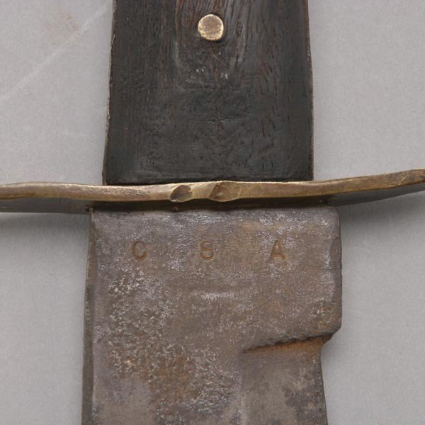 675: Cook Brothers Bowie Knife, 1880s-1890s - 4