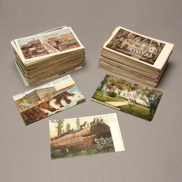 1001: Collection of Approx. 300 Postcards.
