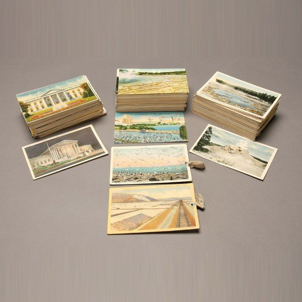 1016: Collection of Over 400 Postcards.