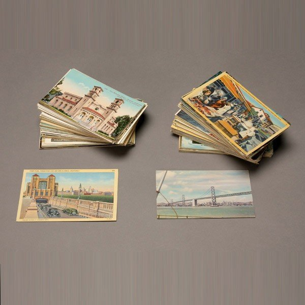 1021: Collection of Over 350 Postcards.