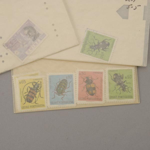1087: International Stamp Collection. - 4