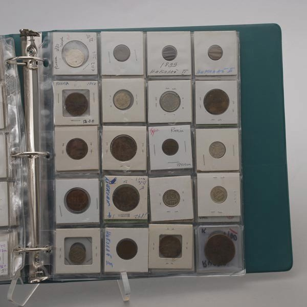 1249: Collection of Russian Coins 1758-1929. - 4