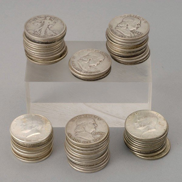 1277: Collection of U.S. Silver Coins.