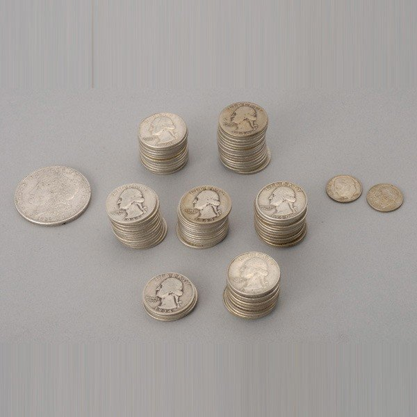 1278: Collection of U.S. Silver Coins.