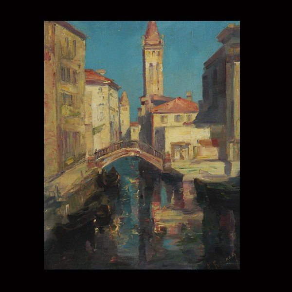 """3: Karoly Ferenczy """"Hungary"""" Oil"""