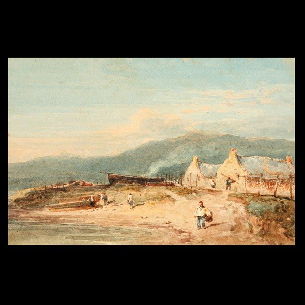 10: Attributed to DAVID COX, Watercolor