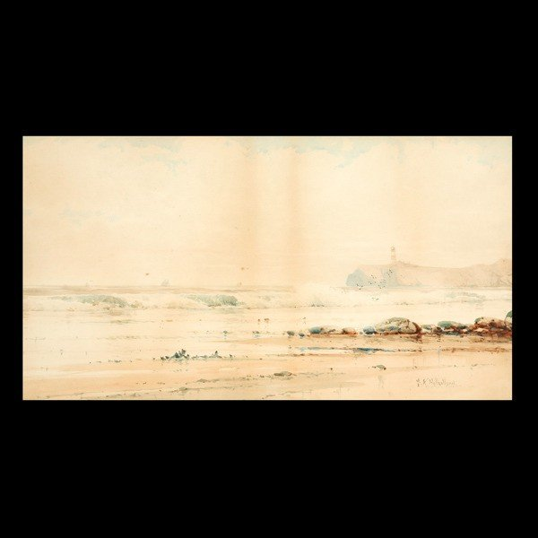 "13: SAMUEL A. MULHOLLAND ""Crashing Waves"""