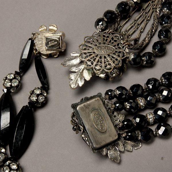 1022: Assortment of Alice Caviness and DeMario Jewelry - 6