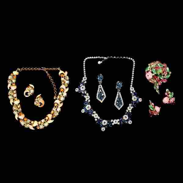 Group of Costume Jewelry including Trifari
