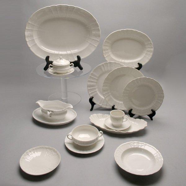 1074: 145 pc of KPM Berlin Porcelain Rocaille Dinnerwar