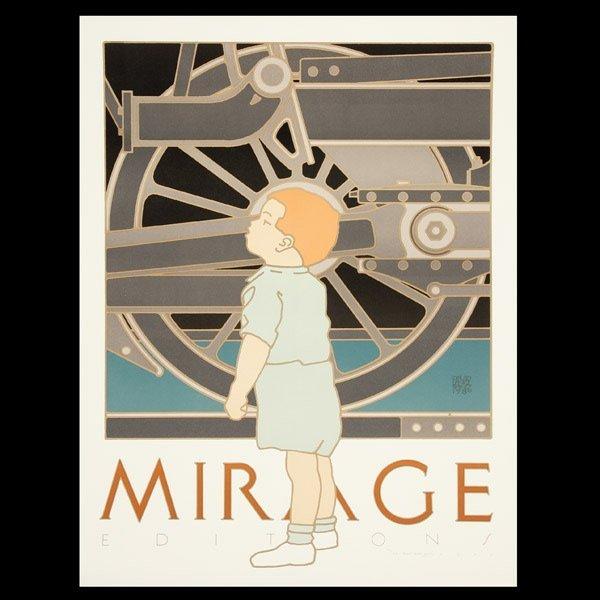 1103: Three David Lance Goines (Contemporary) Graphics