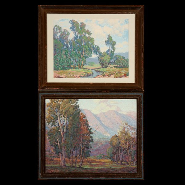 1110: Two Landscapes, F. Grayson Sayre, and Paul Laurit