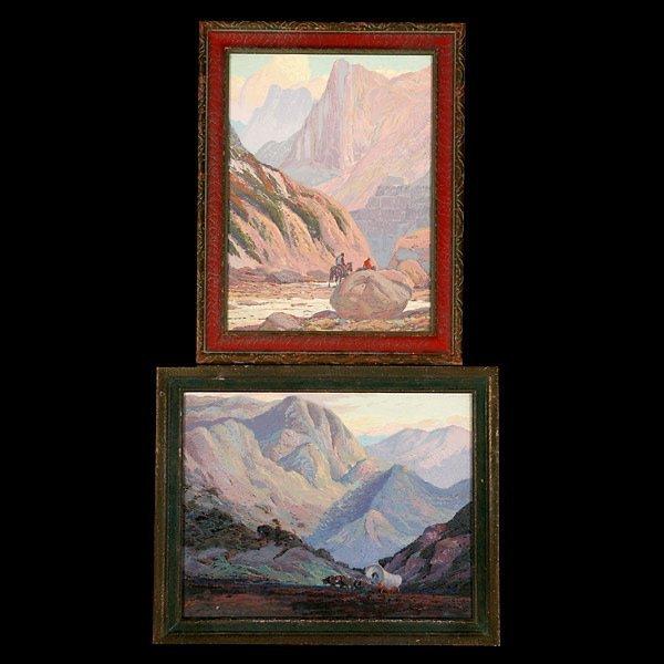 1111: Fred Sayre 2 works Serigraphs