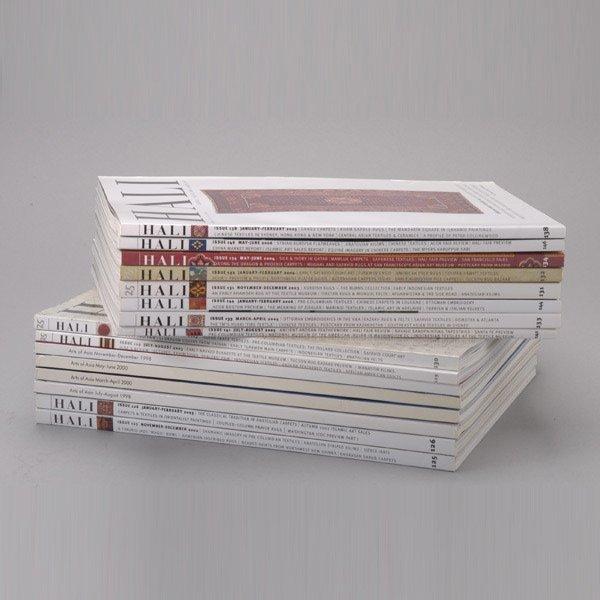1149: Group of 50 Hali Textile Magazines
