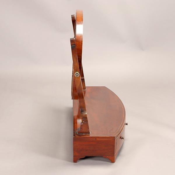 1164: Regency Style Mahogany Shaving Mirror - 4