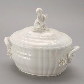 KPM Berlin Porcelain Rocaille Lidded Tureen
