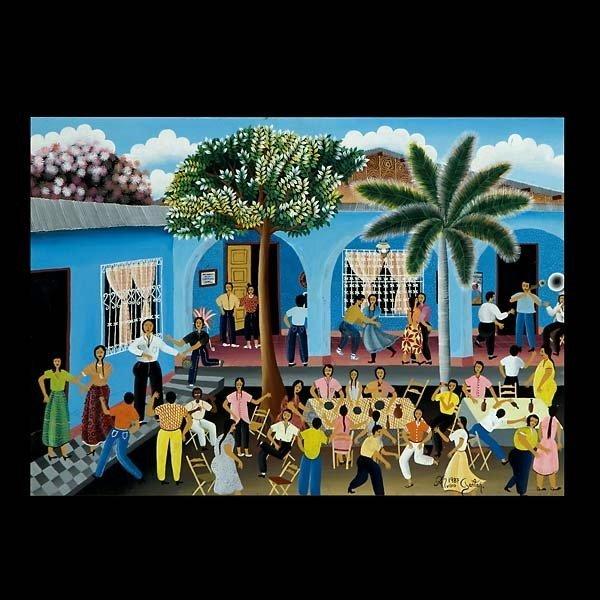 8: ALVARO GAITAN central american folk art