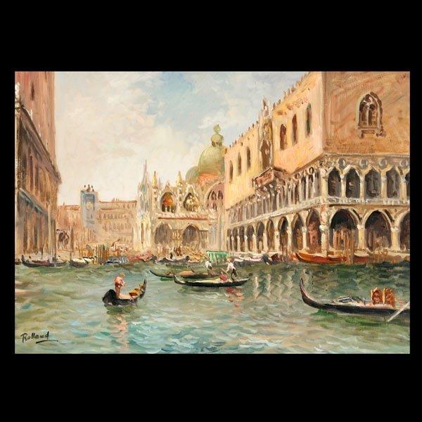 """10: Rolland  """"Venetian Landscape """""""