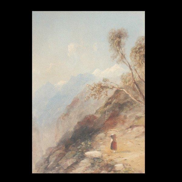 """24: Edward Tucker """"Tyrol Mt. Path"""""""