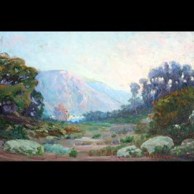 WILLIAM GALEN DOSS   California Landscape