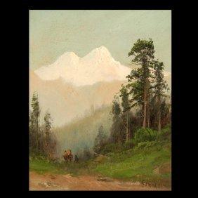 """FREDERICK SCHAFER   """"Mt. Shasta"""""""