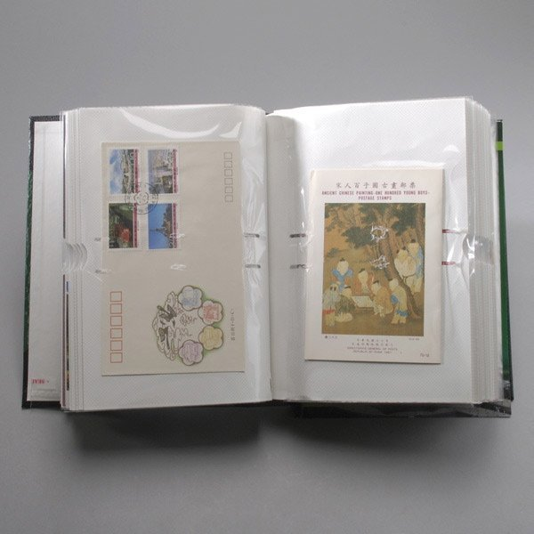 406: Collection of Chinese Souvenir Sheets and Covers.