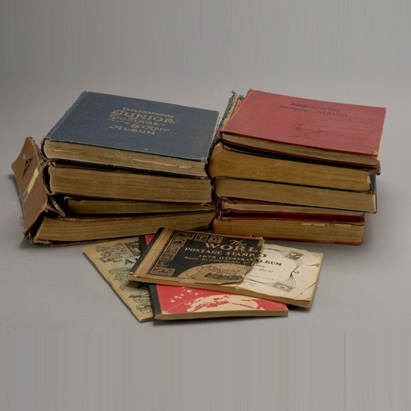 410: World Wide Lot of Old Stamp Albums.