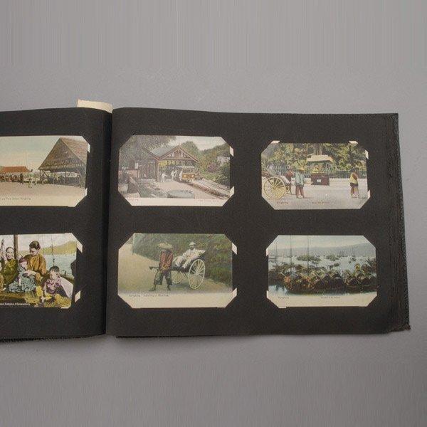 411: 200 Asian Postcards in Album,