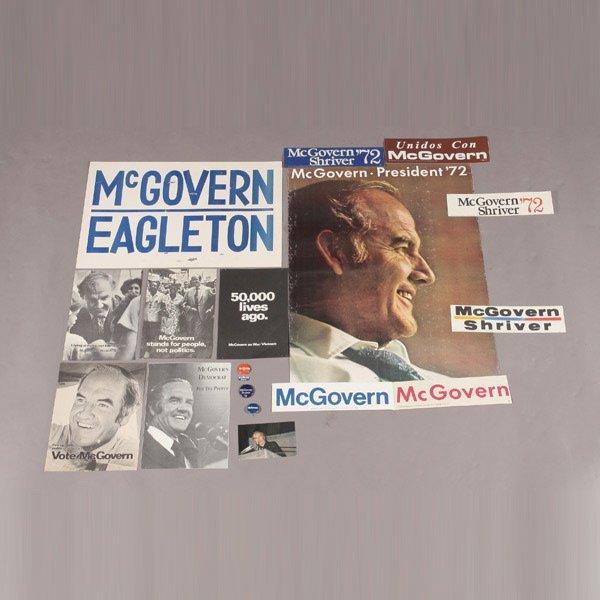 413: McGovern-Eagleton-Shriver '72 Presidential Campaig