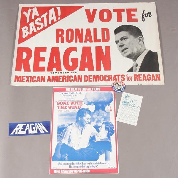 415: Ronald Reagan 1980 Presidential Campaign Material
