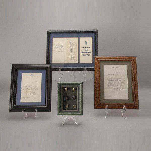416: Group of Political Mementos