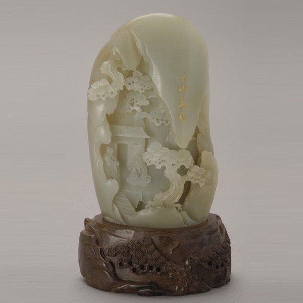 421: A Carved Jade Boulder