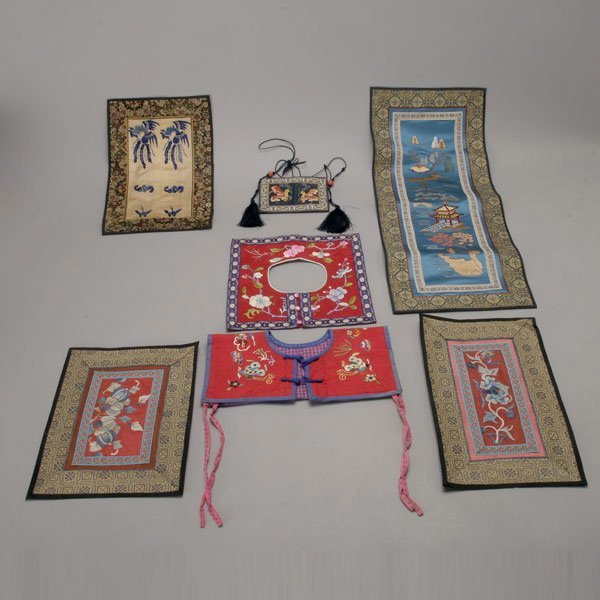 481: A Group of Embroidered Textiles