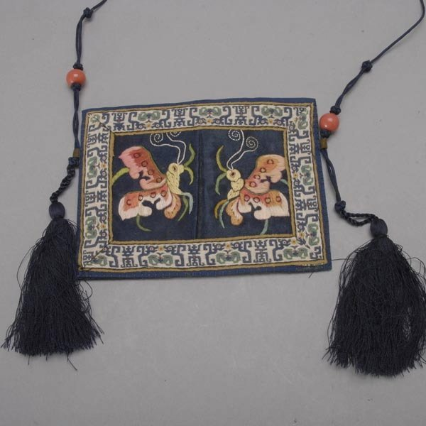 481: A Group of Embroidered Textiles - 2