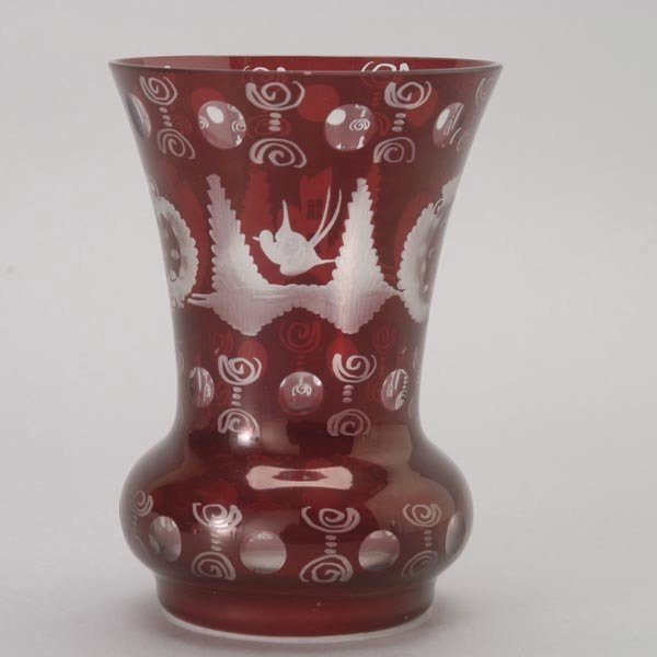 644: A Vase, a Goblet and a Glass Cup - 3