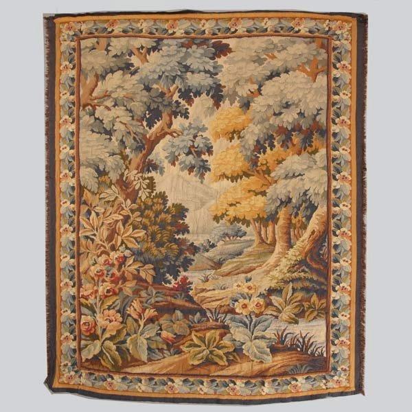 1005: Belgian Verdure Tapestry