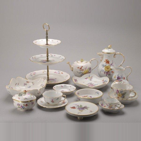 1078: Meissen Porcelain Partial Dessert Service (62)