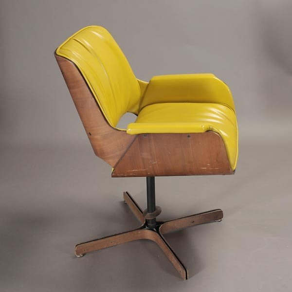 """1265: Plycraft """"Mr. Chair"""" Recliner and Arm Chair, - 2"""