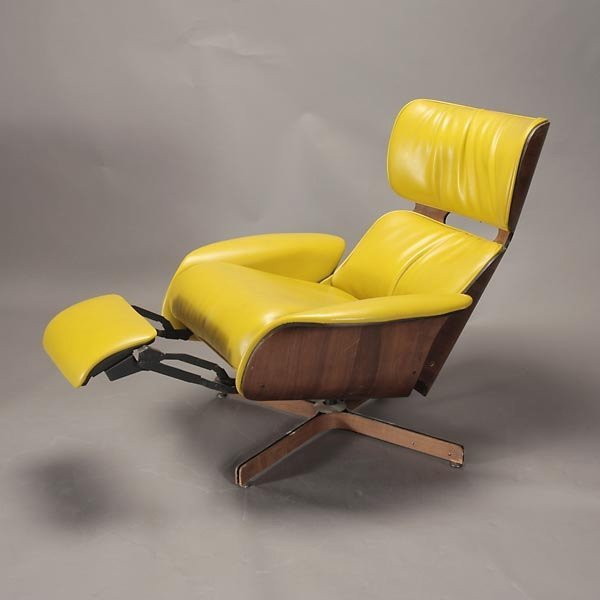 """1265: Plycraft """"Mr. Chair"""" Recliner and Arm Chair, - 3"""