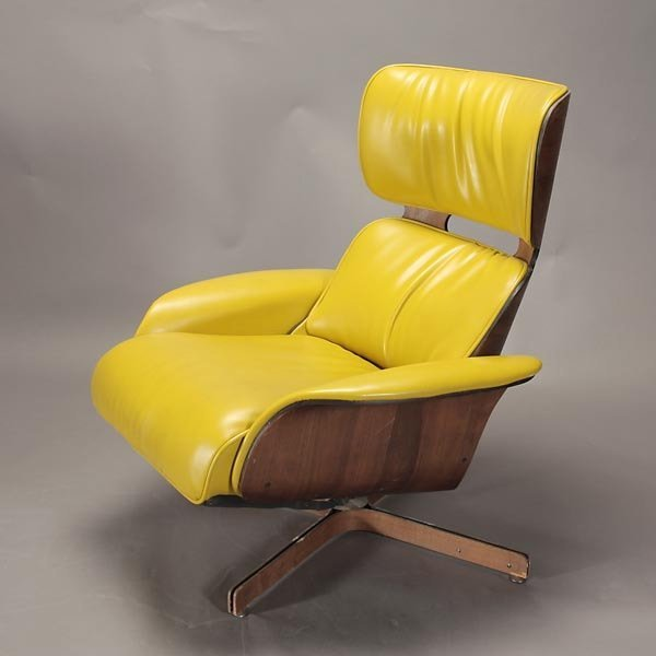 """1265: Plycraft """"Mr. Chair"""" Recliner and Arm Chair, - 4"""