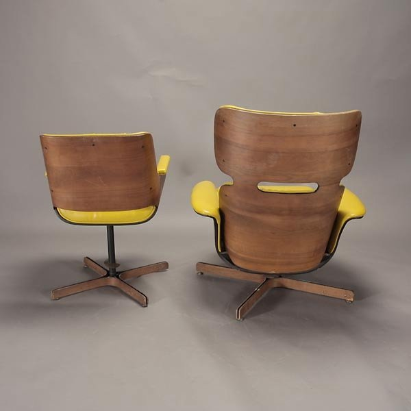 """1265: Plycraft """"Mr. Chair"""" Recliner and Arm Chair, - 5"""