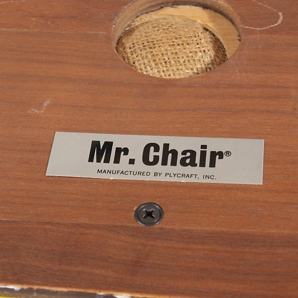"""1265: Plycraft """"Mr. Chair"""" Recliner and Arm Chair, - 6"""