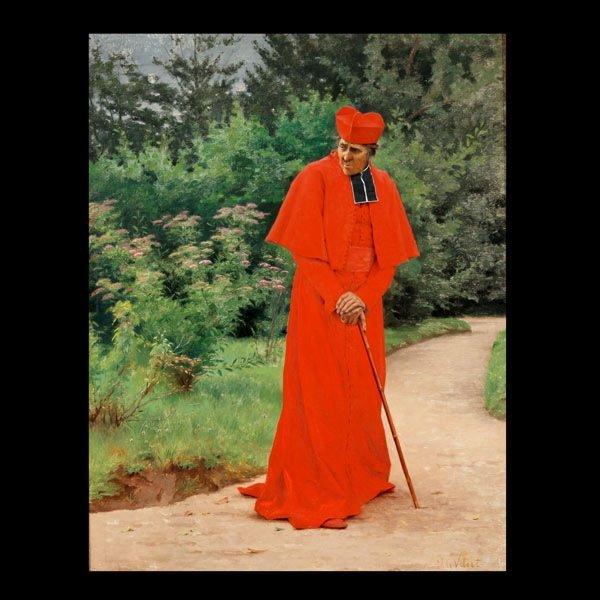 """2007: JEHAN GEORGES VIBERT    """"The Cardinal"""""""
