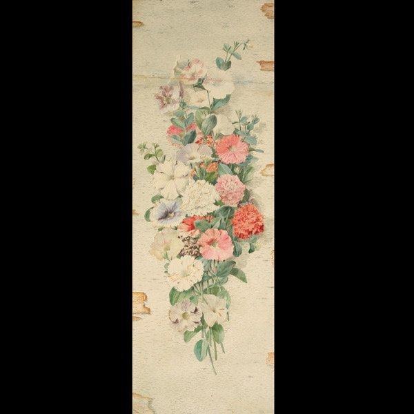 2008: ALOIS LUNZER  A Floral Depiction   Watercolor