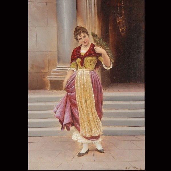 2012: Attributed to EUGENE VON BLAAS Venetian Beauty