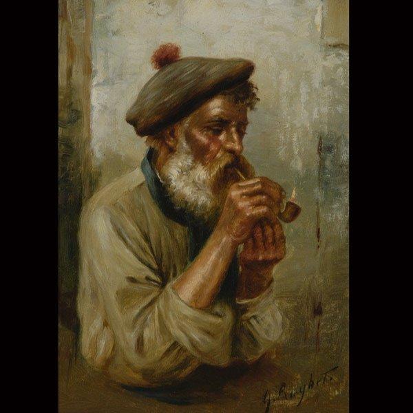 "2013: Ferdinand Roybet ""The Smoker"""
