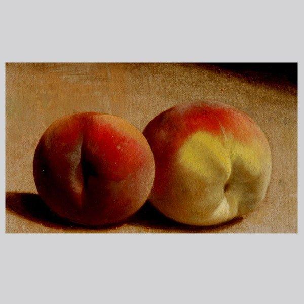 "2019: WILLIAM MASON BROWN  ""Still Life of Peaches"""
