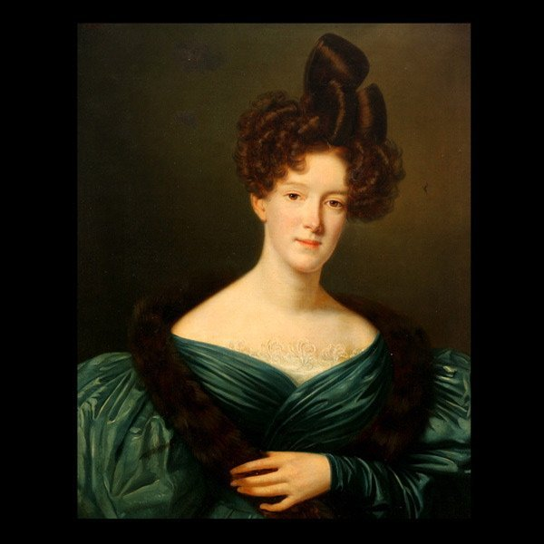 "2020: J.J. VAUDECHAMP ""Portrait of Mrs. Samuel Bell"""