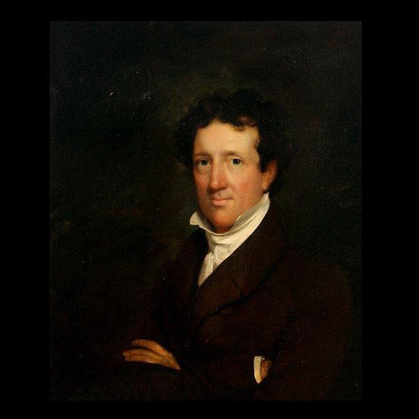"""2021: JOHN WESLEY JARVIS """"Portrait of Mr. Samuel Bell"""""""